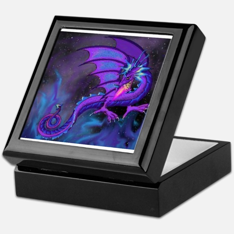 Sky Dragon Keepsake Box