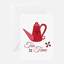 Tea Time Greeting Cards