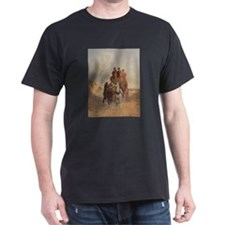 The Royal Mail Coach on the Road - John He T-Shirt