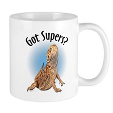 Bearded Dragon Got Supers? Mug