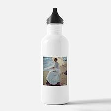 Clotilde on the Beach Water Bottle