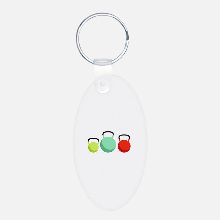 Kettlebells Keychains