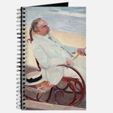 Antonio García at the Beach - Joaquín Soro Journal