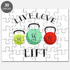 Live Love Lift Puzzle