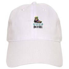 On A Roll Baseball Baseball Cap