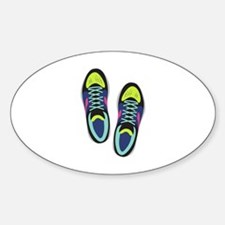 Running Shoes Decal