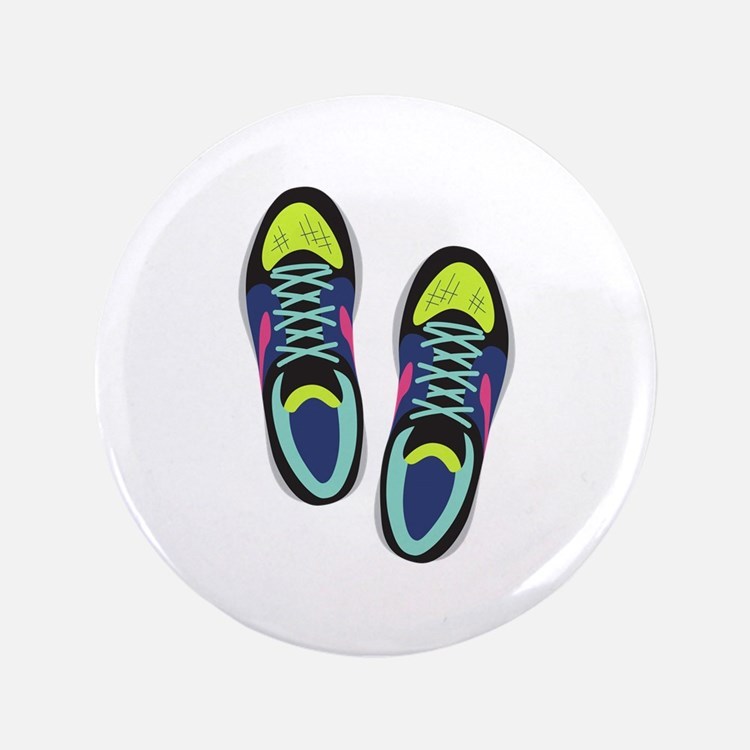 Running Shoes Button
