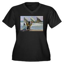 The Three Sails - Joaquin Soroll Plus Size T-Shirt