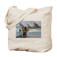 The Three Sails - Joaquin Sorolla Tote Bag