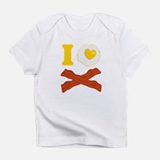I Love Bacon And Eggs Infant T-Shirt