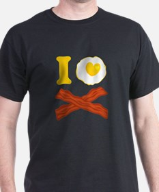 I Love Bacon And Eggs T-Shirt