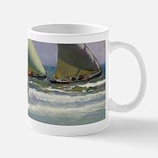 The Three Sails - Joaquin Sorolla Mugs