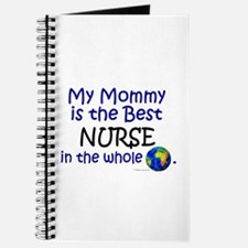 Best Nurse In The World (Mommy) Journal