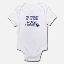 Best Nurse In The World (Mommy) Infant Bodysuit