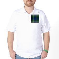 MacCallum Clan Tartan Square T-Shirt