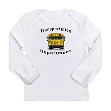 Cute School bus driver Long Sleeve Infant T-Shirt