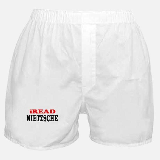 iREAD Nietzsche Boxer Shorts