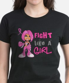 Unique Fight like a girl Tee