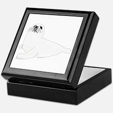 Baby Harp Seal Keepsake Box
