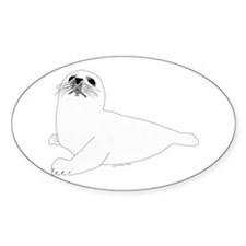 Baby Harp Seal Decal