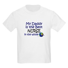 Best Nurse In The World (Daddy) T-Shirt