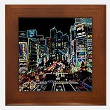 Cute Vivid Framed Tile