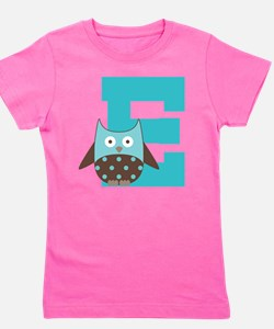 Unique Letter e Girl's Tee