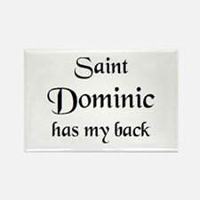 saint dominic Rectangle Magnet