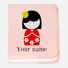 Girl (p) Baby Blanket