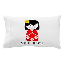 Girl (p) Pillow Case