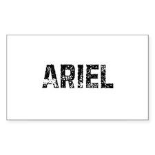 Ariel Rectangle Decal
