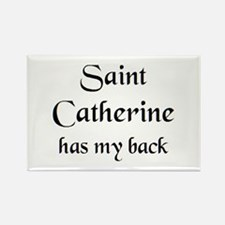 saint catherine Rectangle Magnet