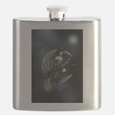 Cresent Witch Flask