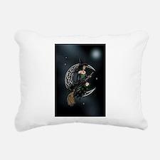 Cresent Witch Rectangular Canvas Pillow