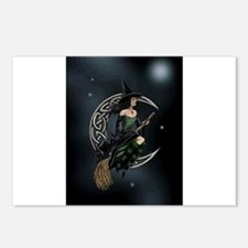 Cresent Witch Postcards (Package of 8)
