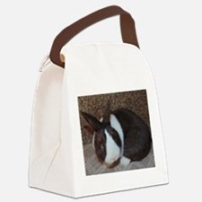 Chocolate Dutch Canvas Lunch Bag