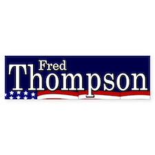 Fred Thompson Bumper Bumper Sticker