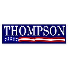 Thompson for President Flag Bumper Bumper Sticker