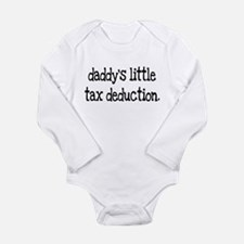 Cute Funny accounting Long Sleeve Infant Bodysuit
