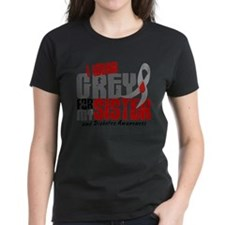 Funny Juvenile diabetes i wear grey gray for my daughter Tee