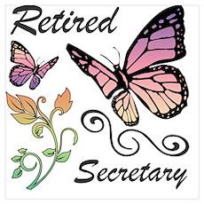 Retired Secretary Poster
