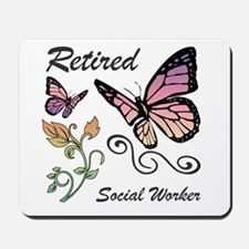 Retired Social Worker Mousepad