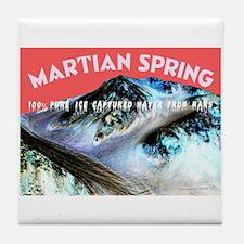 Mars Water Tile Coaster
