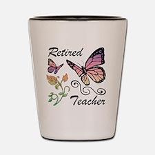 Retired Teacher Shot Glass