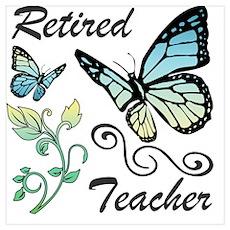 Retired Teacher Poster