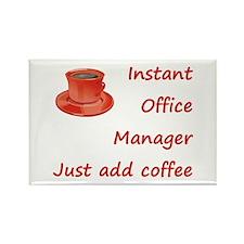 Cute Coffee addict Rectangle Magnet