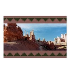 BRYCE CANYON SPIRES Postcards (Package of 8)