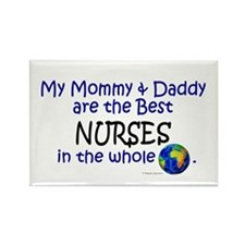 Best Nurses In The World Rectangle Magnet