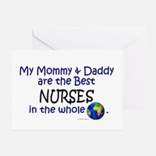 Best Nurses In The World Greeting Card