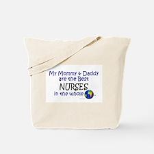 Best Nurses In The World Tote Bag